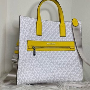 New Michael Kors large kenly tote bag